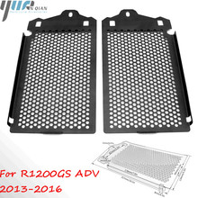 For BMW R1200GS ADV 13 16 Radiator Grill Guard Cover Motorcycle Radiator Grill Guard Cooler Cover For BMW R1200 GS ADV 2013 2016