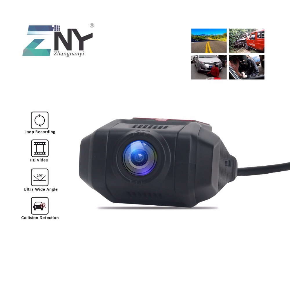 ZNY Car USB DVR Night Vision Front Camera Digital Video Recorder For Android 7.1/ 8.0 CMOS HD Car DVD Stereo Player