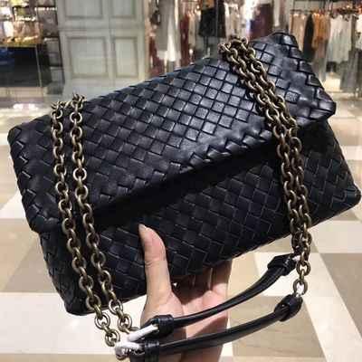 HJKL, женская маленькая сумка, 2018 Натуральная овечья кожа, тканая, высокое качество, мини сумка на плечо, женские сумки, сумки через плечо, горячая сумка-мессенджер
