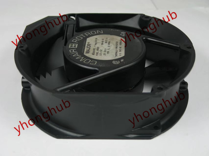 Emacro For Comair Rotron MR2B3 AC 115V 31W 172x150x51mm Server Round Fan free shipping emacro fujitsu uf 15kmr23 bwhf ac 23v 45w 2 wire 110mm 172x150x55mm server round cooling fan