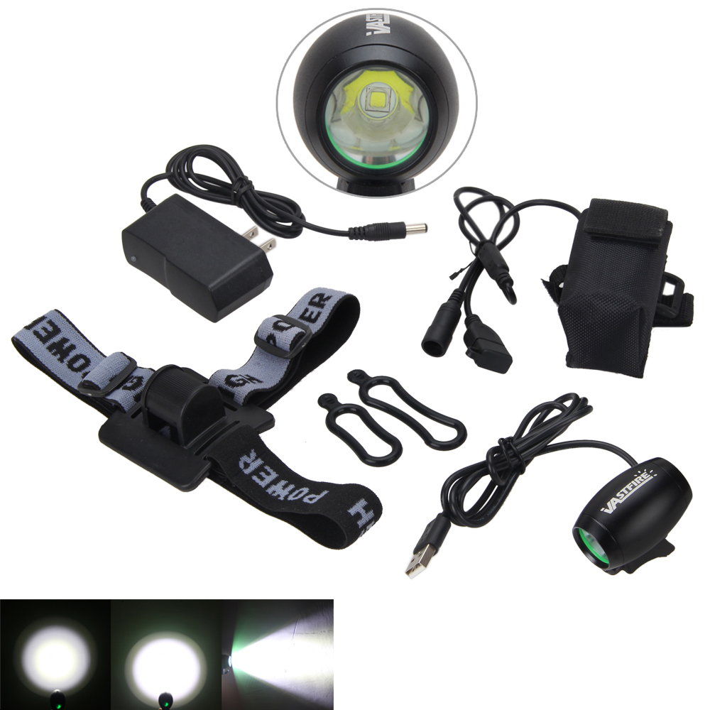 5000LM 5V USB XM-L2 Rechargeable LED Front Bicycle  Light Head Bike Lamp Torch+ 4X18650 Battery +Charger cree xm l t6 bicycle light 6000lumens bike light 7modes torch zoomable led flashlight 18650 battery charger bicycle clip