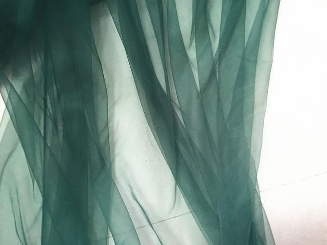 Camera Da Letto Verde Smeraldo : Cm largo yard lot verde smeraldo colore morbido belle tulle