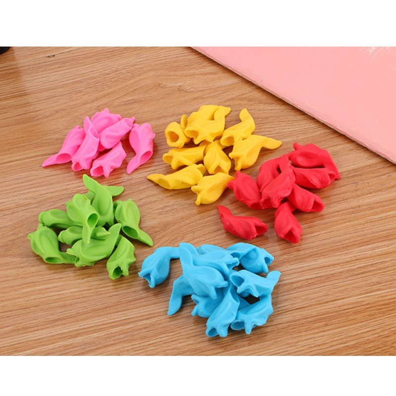 Office & School Supplies Pen Holders 10 Pcs Children Pencil Holder Writing Hold Pen Grip Posture Correction Tool Fish