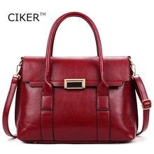 CIKER Marke neue frauen handtasche für frauen taschen leder handtaschen frauen tasche taschen umhängetasche weibliche messenger bags sac ein wichtigsten