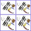 FPV 4 компл. 2212 1000KV Outrunner Мотор + HP 30А ESC + 1045 опора (B) Quad-Ротор Нескольких A2212 FPV quadcopter