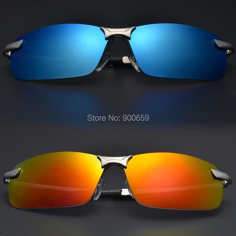 Polarizada Azul Verde Vermelho Revestido Lentes de óculos de Sol Dos Homens  Designer de Pesca Clássico Do Esporte Eyewear oculos de sol gafas 3043 3f395b8e65