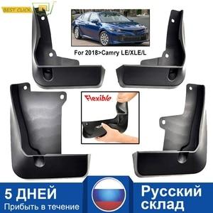 Image 1 - Voor Achter Auto Modder Flap Voor Toyota Camry 2018 2019 Le Xle Daihatsu Altis Spatlappen Splash Guards Mud Flap Spatborden spatbord