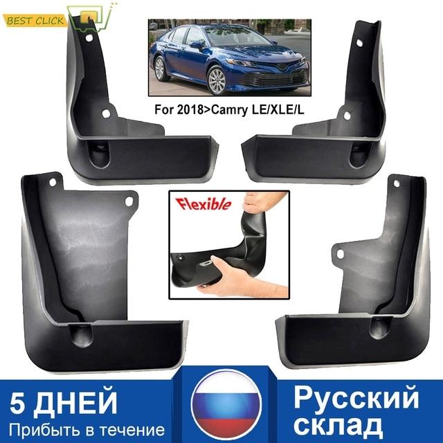 Voor Achter Auto Modder Flap Voor Toyota Camry 2018 2019 Le Xle Daihatsu Altis Spatlappen Splash Guards Mud Flap Spatborden spatbord