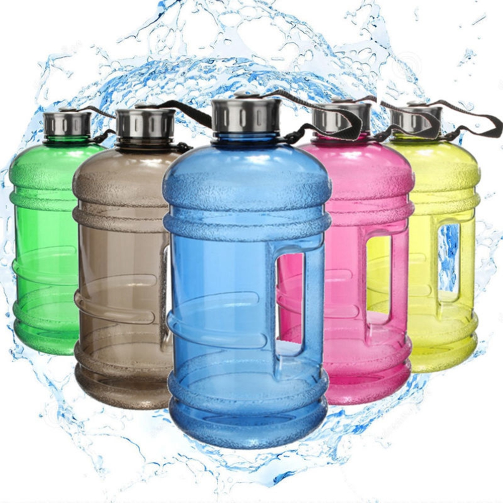 2.2L Large Capacity Gym Sports Water Bottle Outdoor Picnic Bicycle Bike Camping Cycling Kettle Space Bottle Botella Agua Deporte