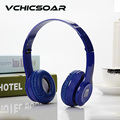2016 Fashion Wired Headphones with Microphone Portable Foldable Gaming Headband Headset Stereo Sound for Computer Mobile Phones