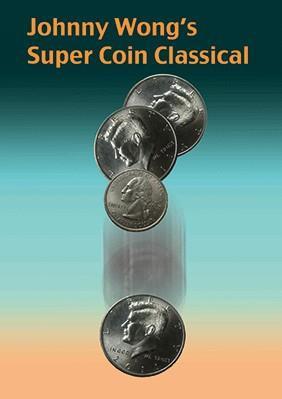 Livraison gratuite! Super Coin classique de J W-tours de magie, accessoires de magie de pièces et d'argent, accessoires, scène, gros plan, comédie, jouets