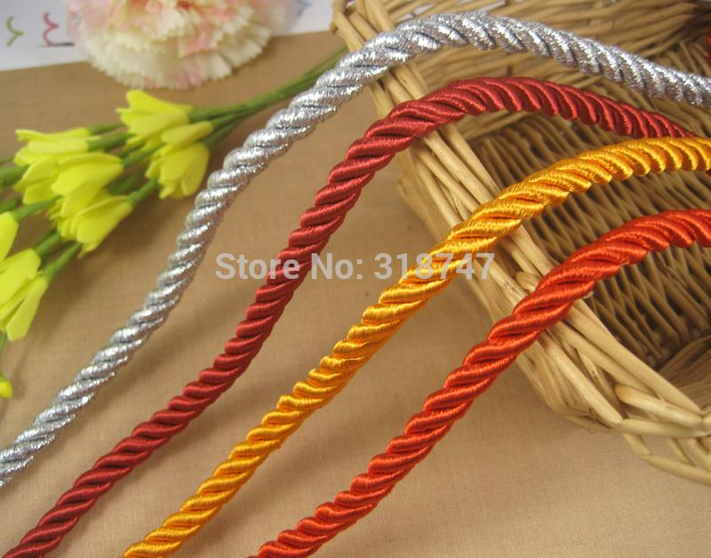 Sale lucia crafts 8mm braided twist nylon cord string for Crafts to make for sale