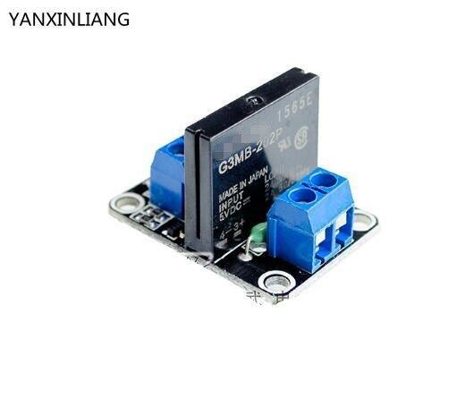 1 шт. 5 В 1 канал ССР высокого уровня твердотельные реле модуля 250 В 2A для Arduino. мы являемся производителем