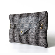 European Fashion Frauen Kupplung Handtasche Hülle Tasche Frauen Messenger Bag Schlange Muster 30*20 cm Club Party Gekleidet Tasche für Damen