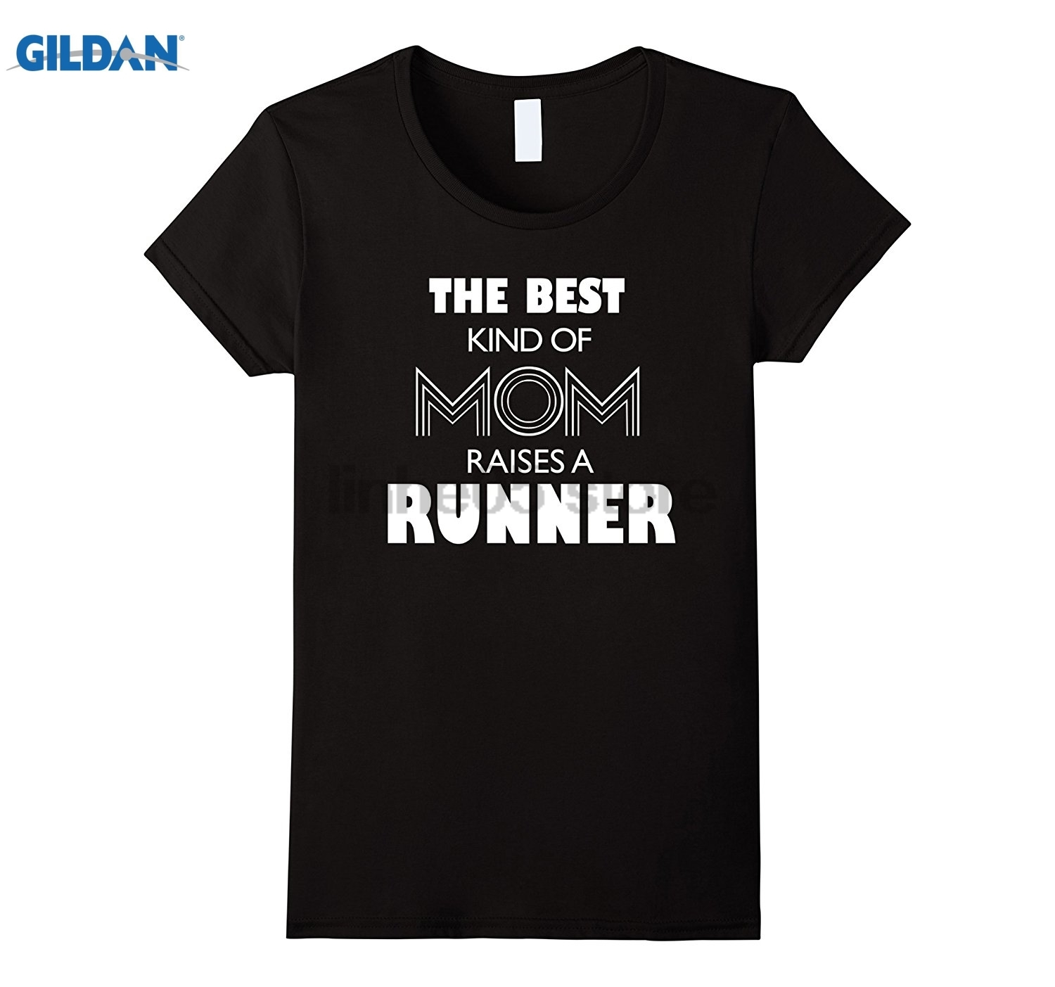 GILDAN Womens The Best Kind Of Mom Raises A Runner Tshirt Mother Day Gifts Womens T-shirt