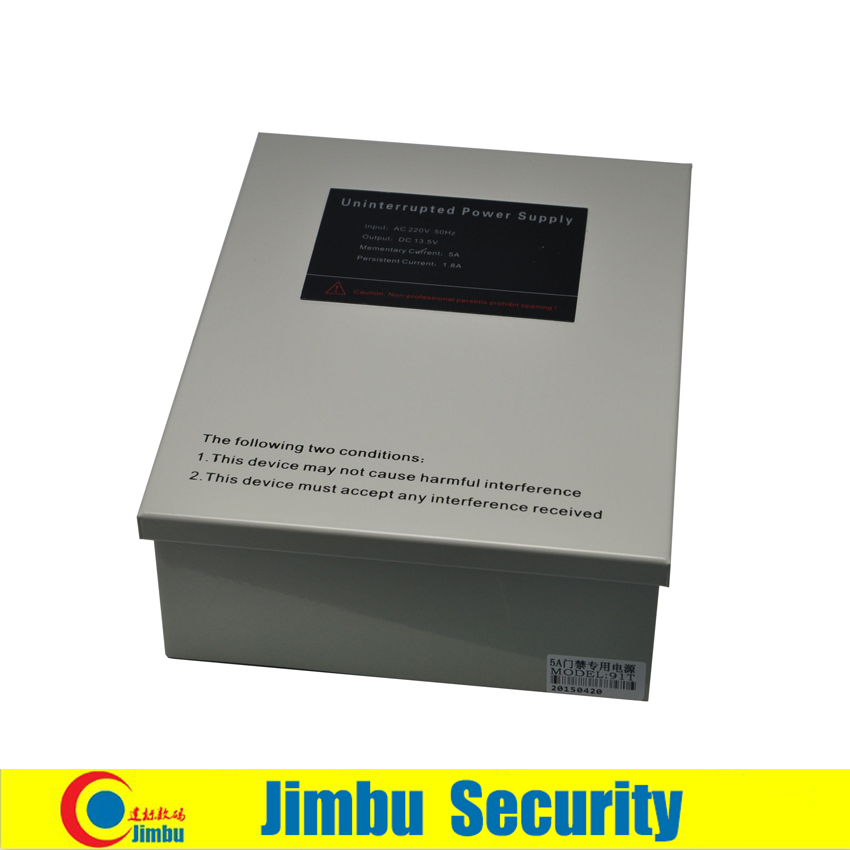 Access control power supply input 220 V DC output 13.6V 5A built in unlock time adjustable can install 12V 7AH battery cps 6011 60v 11a digital adjustable dc power supply laboratory power supply cps6011