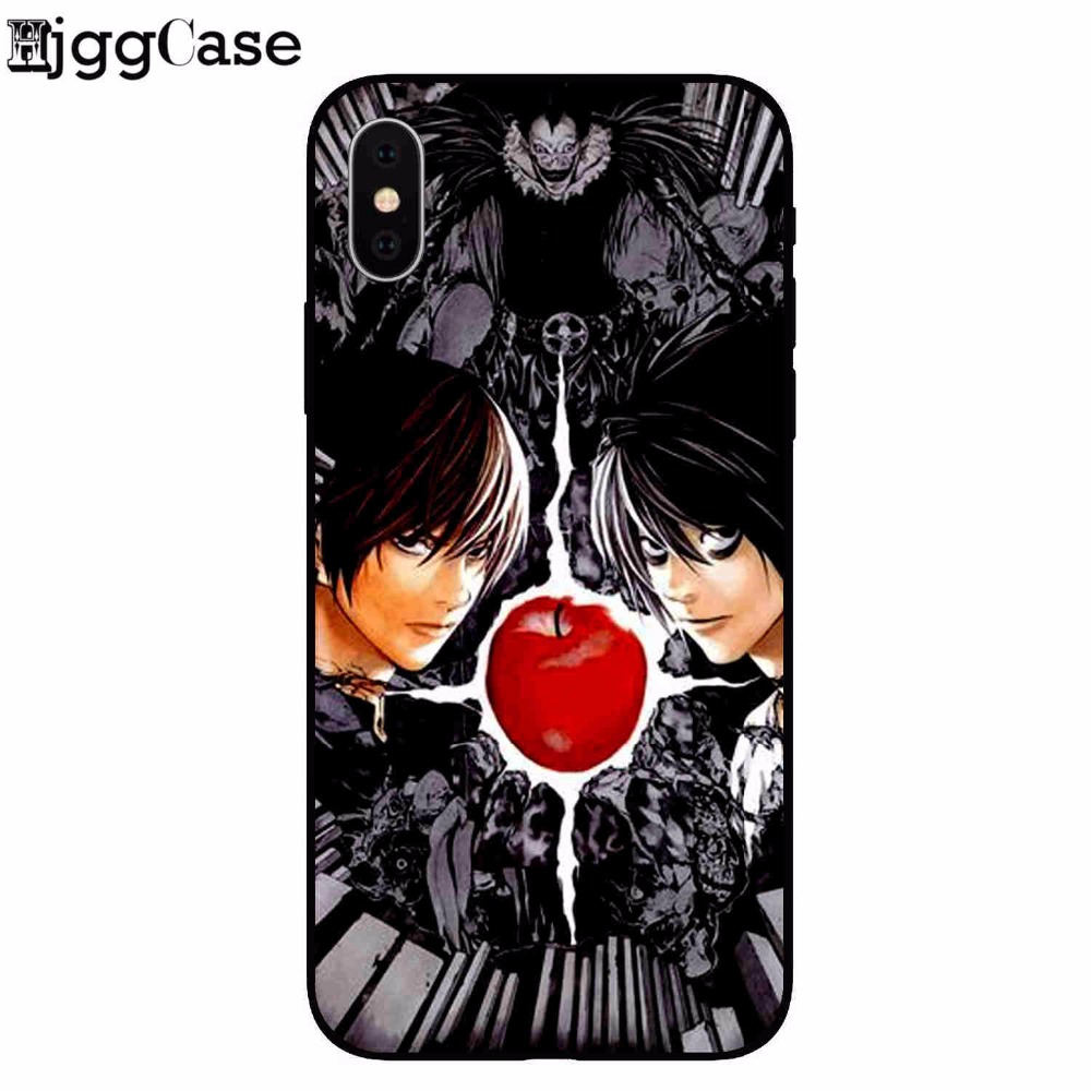 coque iphone 8 death note