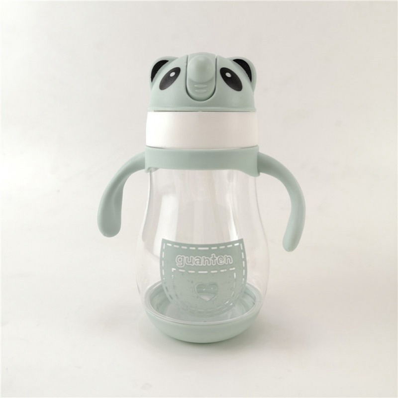 400ML Kids Baby Water Bottle Free Children's Cup Baby Portable Feeding Bottle With Straw Leak Proof Durable Water Cup 2