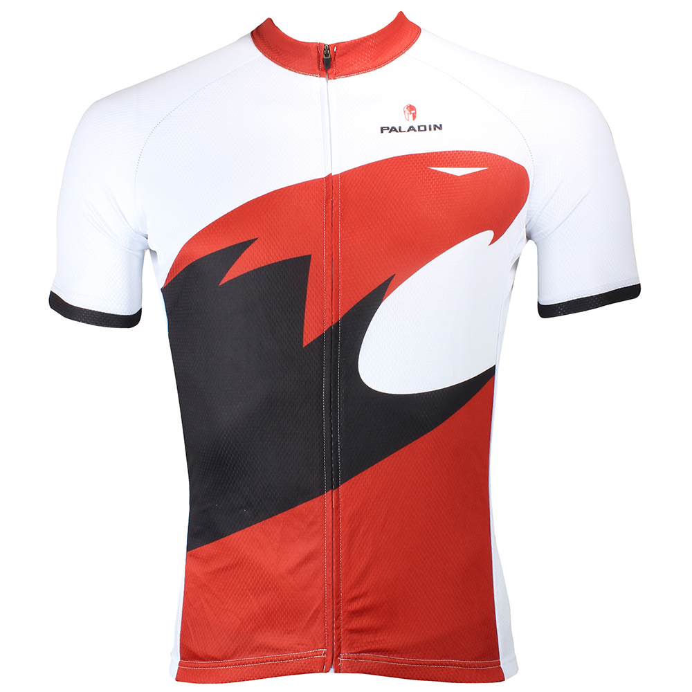 e04729f10 PALADIN Fashion design cycling jersey Red Eagle men short bike wear cycling  clothing ropa bicicleta cycle wear
