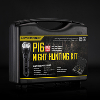 Discount NITECORE 960 Lumen Cold White Light CREE XM L2 U2 LED P16 HUNTING KIT Hunting Military Search Flashlight Lantern BoxSet
