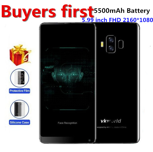 Vkworld S8 18 9 5 99 FHD Mobile Phone Android 7 0 MTK6750T Octa Core 4GB