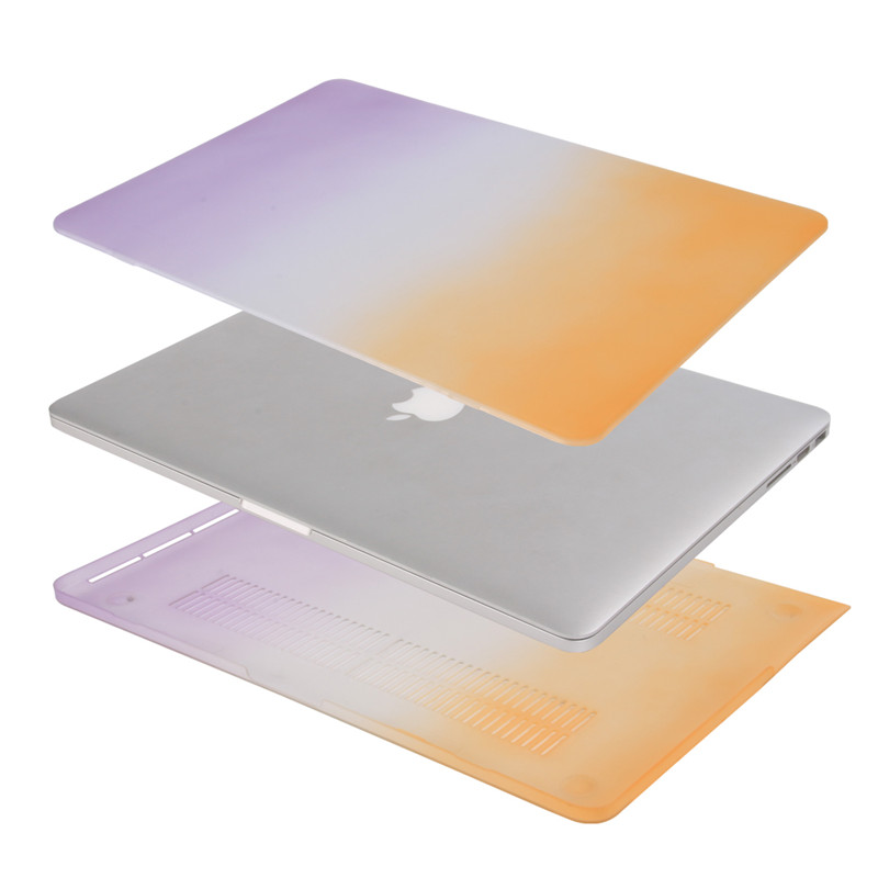 for macbook retina 13 rainbow case hard plastic full protective cover for apple mac book pro 13 inch with retina display