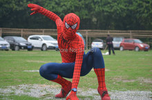 2016 new adult Spiderman clothes cosplay costumes halloween party show