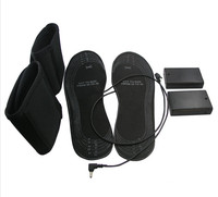 Winter Electronic Heating Insoles USB Heated Insoles Outdoor Warm Shoes Support AA Batteries Warmth To Promote