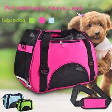 all seasons grid layout breathable fabric pet portable travel bag small  medium dog  walking and traveling essential цена