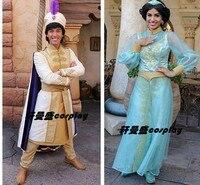 Алладин Косплей Костюм принцессы жасмин индивидуальные Аладдин и волшебная лампа костюмы на Хэллоуин для взрослых
