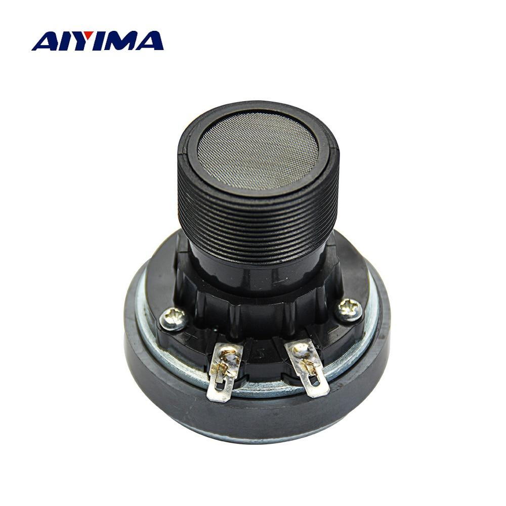 Aiyima 1Pc 8Ohm 40W Portable Audio Speaker Titanium Film Tweeter 25 Core DIY Speakers