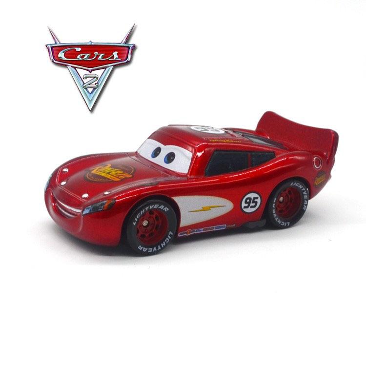 Disney 100% Original Pixar Cars No.95 Speed Lightning