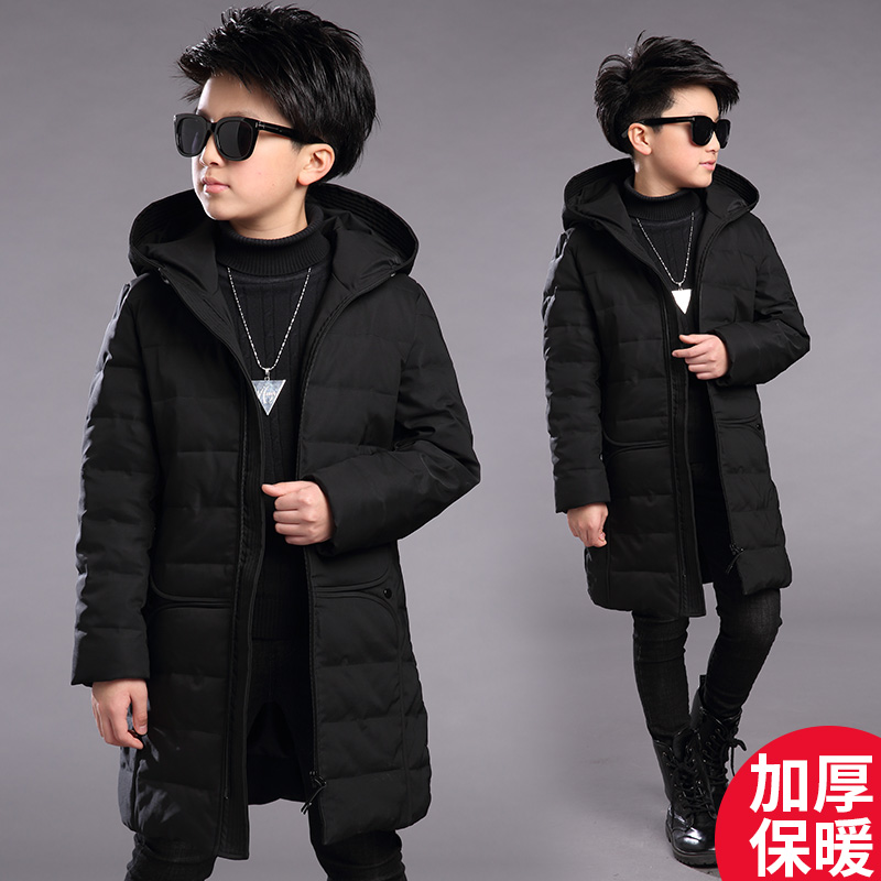Free Shipping 2018 New Winter Children Clothing Baby Boys Casual Cotton Hooded Jacket Kids 6-16Y Thickened Outwear&Coat free shipping men s jacket winter slim thickened hooded jacket men s fashion slim thickened coat wn 110