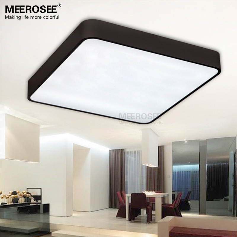 LED Rectangle Ceiling Lights Fixture Modern Simplicity Cube ...