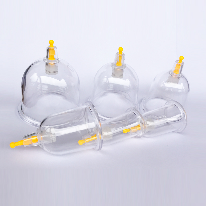 Beauty & Health Sample Pack 6 Pcs/lot B Type Thicker Cups Medical Vacuum Cupping Suction Therapy Device Body Massager Set Nourishing Blood And Adjusting Spirit