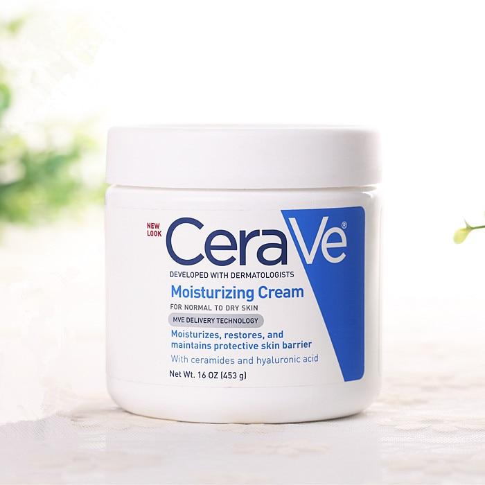 Original CeraVe Moisturizing Cream Repairing And Damaging 340/453g