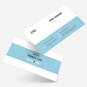 Image 2 - Gratis ontwerp custom visitekaartjes visitekaartje printen papier bellen card, papier visitekaartje 500 stks/partij