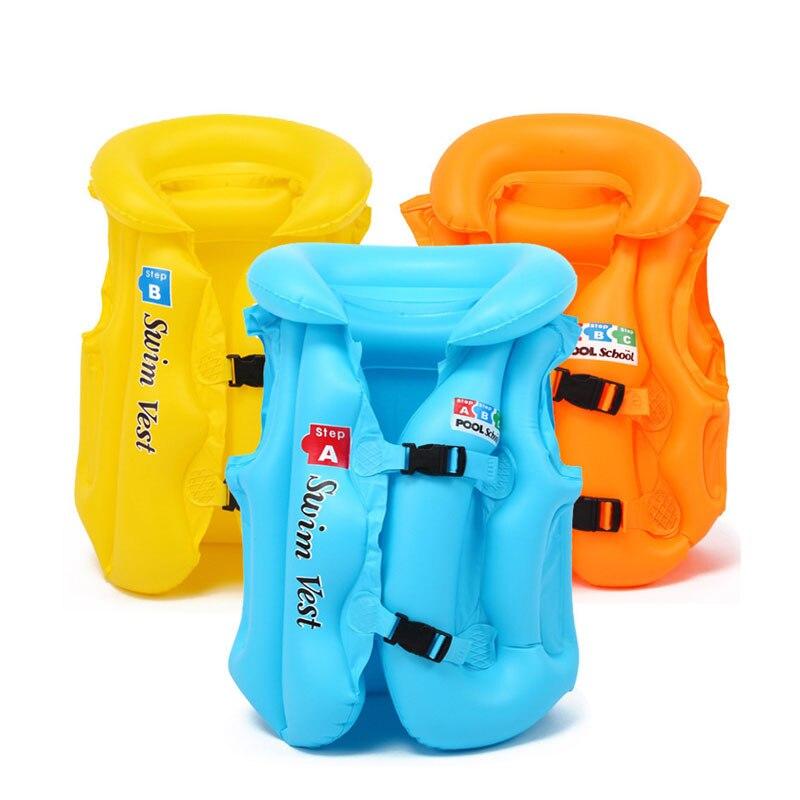 Baby Swim Vest Float Kid Swim Trainer Boy Girl Buoyancy Swimwear Child Life Vest Buoy Swimming Circle Swimming Pool Accessories