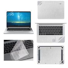 все цены на For Huawei Matebook X Pro 13.9 X 13.3 Laptop Sticker Skin for MateBook E 12 D 15.6 Vinyl Decal Notebook Skin Case+Keyboard Cover онлайн