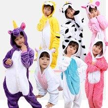 Купить с кэшбэком 2018 New Born Baby Sleepwear Boy Kids Cute Cartoon Animal Unicorn Newborn Baby Sleepwear Pajamas Baby Gown Sleepers Nightgown