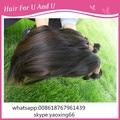 500gram 40-80cm natural wave 100% raw human hair material human hair bulk buy from china brading