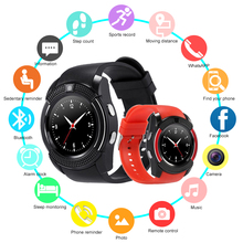 V8 Men Women Smart Watch Sports Smartwatch With Camera Bluetooth 3 0 Support SIM TF Card