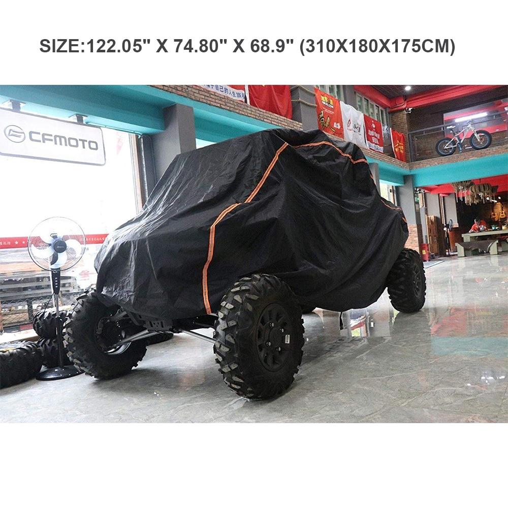 UTV Обложка RZR чехол для хранения защищать фермы vehic внедорожник от дождя Снег Грязь лучи-светоотражающие для Polaris XP XP4 1000 210D