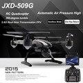 JXD 509G 509 V 509 W 5.8G FPV Wifi RC Drone com Câmera Quadcopter com Câmera Modo Headless Um Retorno de Vídeo Em Tempo Real FSWB