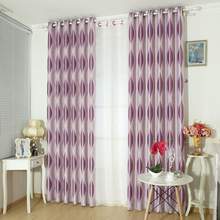 Thicken Jacquard Diamond Window Curtains For Living Room Modern Simple Style Blackout Curtains For Bedroom Custom Made WP390&30