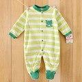 0-12 M Bebê recém-nascido meninas roupas de inverno do Velo Do Bebê Macacão Bonito Dos Desenhos Animados Do Bebê Menino Roupas Roupas Infantis Macacões
