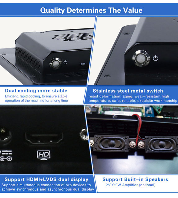 dual lan Industrial Tablet PC 10
