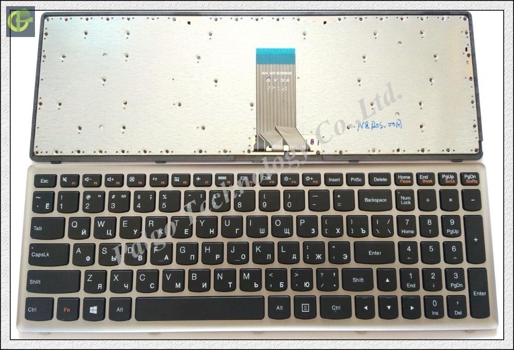 Russian RU Keyboard For Lenovo IdeaPad Z710 HMB3130TLA12 U510 U510 IFI 25211243 Black WITH BACKLIT