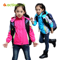 Actionclub 2016 Kids Sport Jacket Girls Spring Autumn Outerwear Coat For Girls Boys Waterproof Windproof Sports Children Clothes