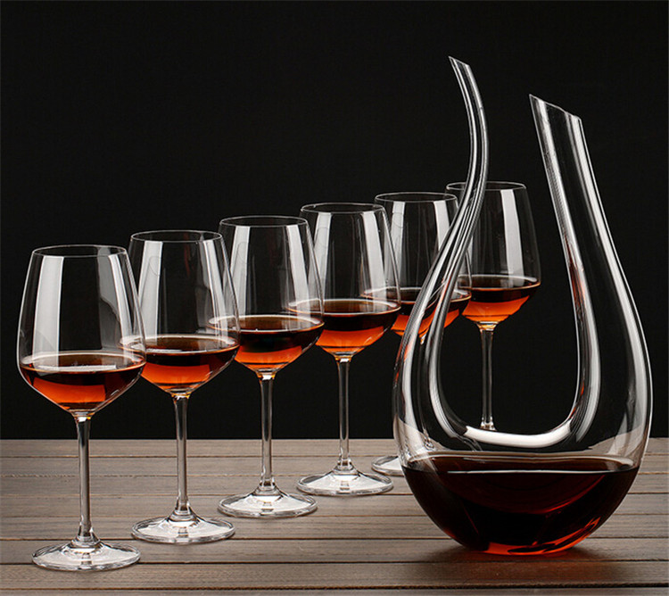 Handmade crystal red wine decanter for What is wine decanter